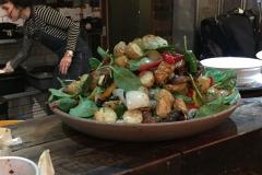 Salat im Exmouth Coffee Shop