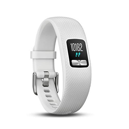Garmin vívofit 4 Fitness Tracker, personalisierbares Farbdisplay, schlankes Design, bis zu 1 Jahr Batterielaufzeit