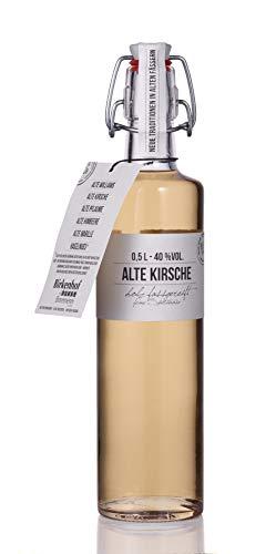BIRKENHOF Brennerei   Alte Kirsche - feine holzfassgereifte Spirituose   (1 x 0,5l ) - 40 % vol.