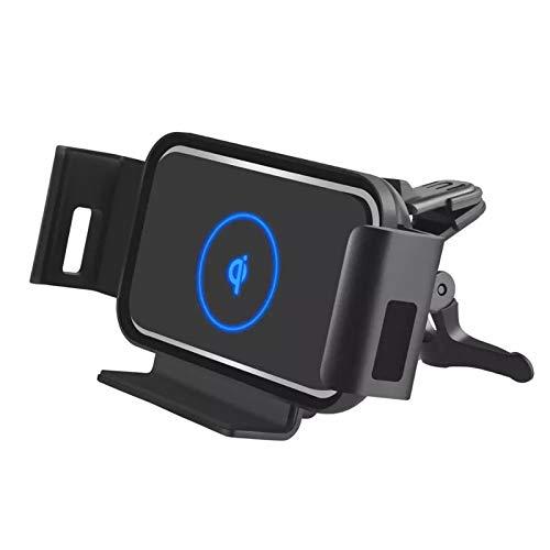 Automatische Klemmfaltbildschirm 10W Auto Qi Wireless Ladegerät Für Samsung Galaxy Fold Fold2 iPhone XS 11 MAX AIR Vent Mount TELEFONHALTER