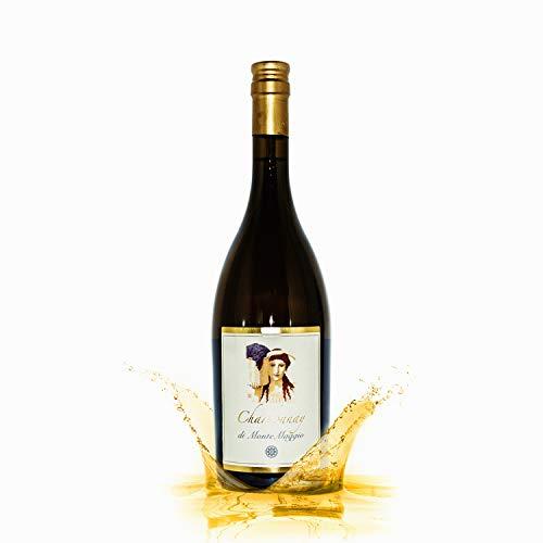 Chardonnay di Montemaggio - Toskanischer Bio-Weißwein - Trockener Luxuriöser Edler Bio - 100% Chardonnay - Wein aus Italien - Glaskorken - Fattoria di Montemaggio - 0.75L