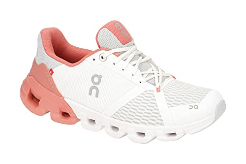 On Running W Cloudflyer Weiß, Damen Laufschuh, Größe EU 37 - Farbe White - Coral