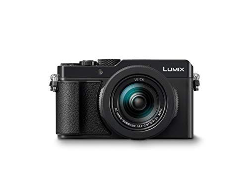 Panasonic LUMIX DC-LX100M2 Premium Digitalkamera (21,77 MP, 24-75mm Leica DC Vario Summilux Objektiv, F1.7-2.8, 4K, schwarz) - Werbung*