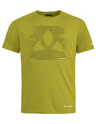 VAUDE Herren T-Shirt Men's Gleann T-Shirt, wild Lime, XL, 41807