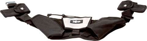 XCO® Walking und Running Gürtel, 2 Taschen für die XCO-Trainer, Trainingsplan, Mp3-Player