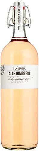 BIRKENHOF Brennerei   Alte Himbeere - feine holzfassgereifte Spirituose   (1 x 1l ) - 40 % vol.