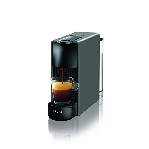 Krups Nespresso XN1108 Essenza Mini Kaffeekapselmaschine, 1260 Watt, schwarz, 0,6 Lit