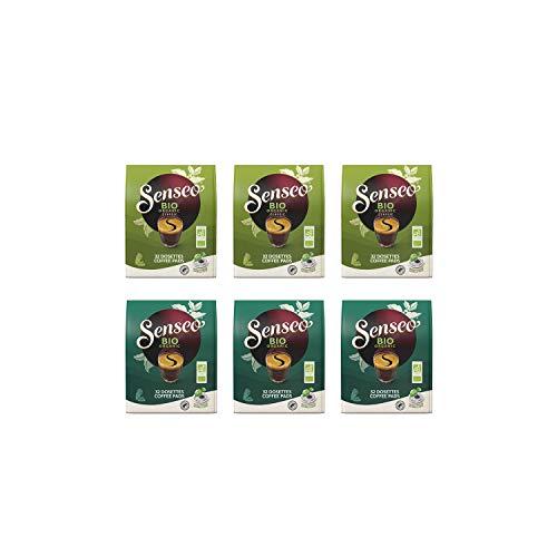 Senseo Kaffeepads Bio Probierpaket 2 Sorten Mixbox: Bio Organic Intense und Bio Organic Classic - 6 Stück (192 Pads)