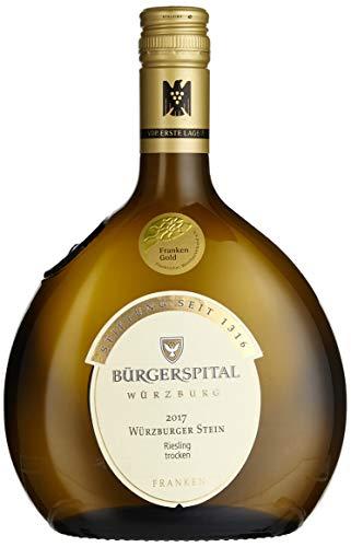 Weingut Bürgerspital Würzburger Stein Riesling - VDP. Erste Lage - Qualitätswein trocken (1 x 0.75 l)