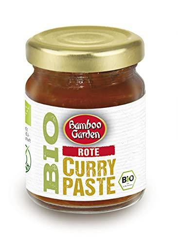 Bamboo Garden Bio Curry Paste rot, 125