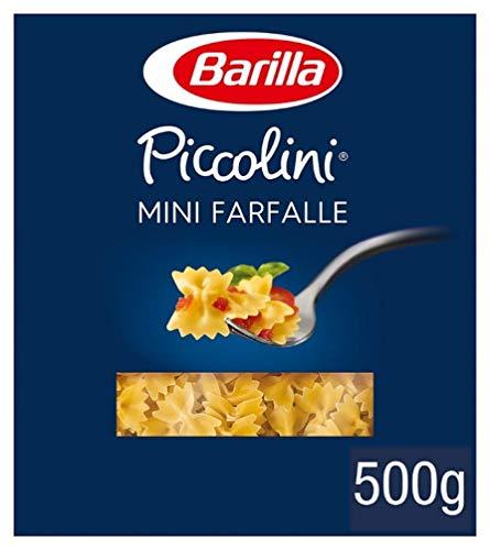 Barilla Hartweizen Pasta Piccolini Mini Farfalle – 12er Pack (12x500g)