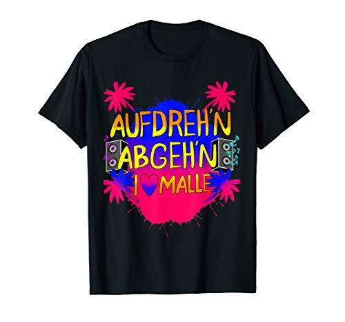 Malle Partyurlaub Tshirt 2019 Good Vibes Herren Damen T-Shirt