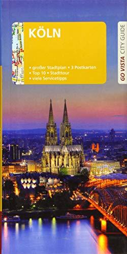 GO VISTA: Reiseführer Köln: Mit Faltkarte und 3 Postkart
