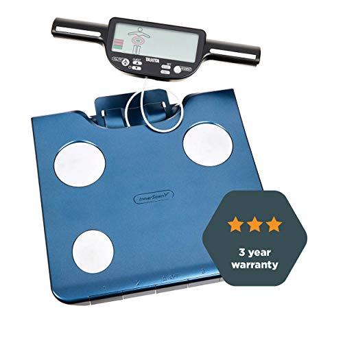 BC-602 Segment Körperanalyse Waage mit Datenübertragung, Körperfett, Muskelmasse pro Segment, 150Kg max, Handsensoren,Leader in BIA  - Werbung*