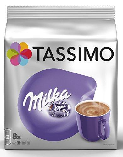 Tassimo Kapseln Milka, 40 Kakao Kapseln, 5er Pack, 5 x 8 Getränk
