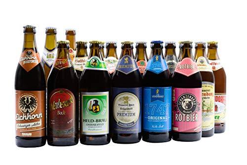 Bierwohl I Geschenkidee I Das Große I Bierpaket aus Franken I 18x 0,5l