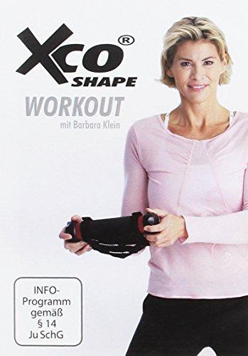 XCO Workout Shape DVD mit Barbara Klein - Trainings-Programm / Übungen für Körperspannung und Fettverbrennung, Sprache: Deutsch, ca. 70 Minut