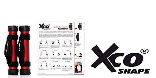XCO ALU PREMIUM SET, Inkl. Trainingsprogramme: XCO Shape / Home,  XCO Walking and Runnig