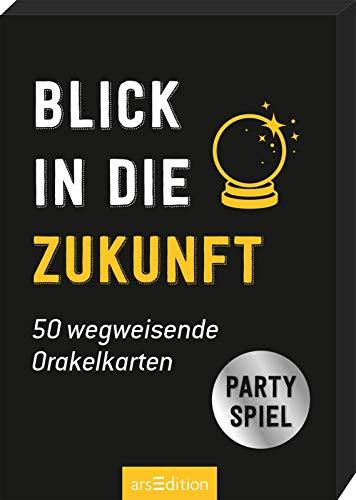 Blick in die Zukunft. 50 wegweisende Orakelkarten: Partyspiel (Partyspiele)