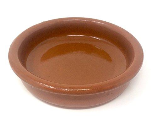 Tapas Schale 14cm Cazuela Barro Tradicional Auflaufform Gratin Güvec Greixonera Ton Keramik