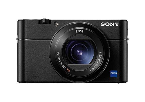 Sony DSC-RX100 V Digitalkamera (Stacked Exmor RS CMOS Sensor, 40-Fach Super-Zeitlupe, Anti-Distortion Verschluss, 24-70 mm zeiss Vario-Sonnar T) [Altes Modell] - Werbung*