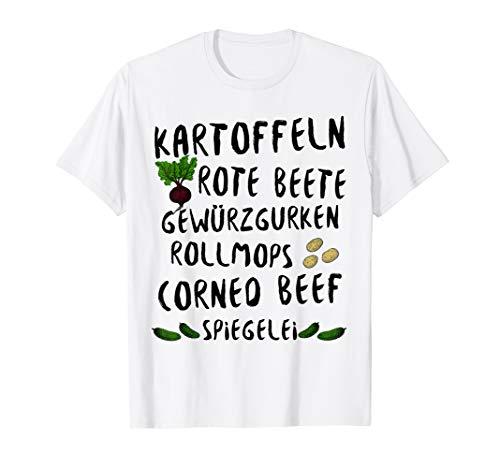 Norddeutsche Spezialität Labskaus Rezept T-Shirt