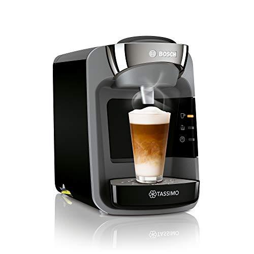 Tassimo Suny Kapselmaschine TAS3202 Kaffeemaschine by Bosch, über 70 Getränke, vollautomatisch, geeignet für alle Tassen, nahezu keine Aufheizzeit, 1300 W, schwarz
