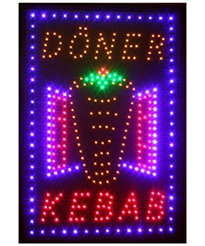 LED Schild Leuchtschild Reklame LEUCHTREKLAME Werbung versch.stylen DISPLAY SIGNS DÖNER KEBAP