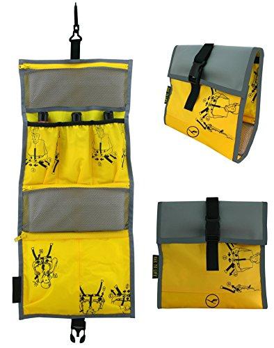 BAG TO LIFE Lufthansa Vielflieger Edition Easy Packing Washbag Hängekulturtasche Badtasch