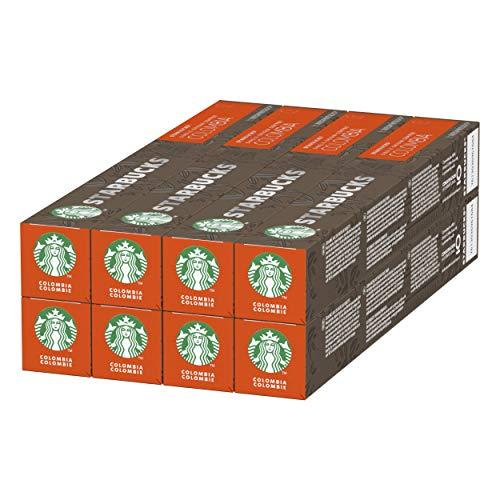 STARBUCKS Single-Origin Colombia By Nespresso, Medium Roast Kaffeekapseln, 80 Kapseln (8 x 10)