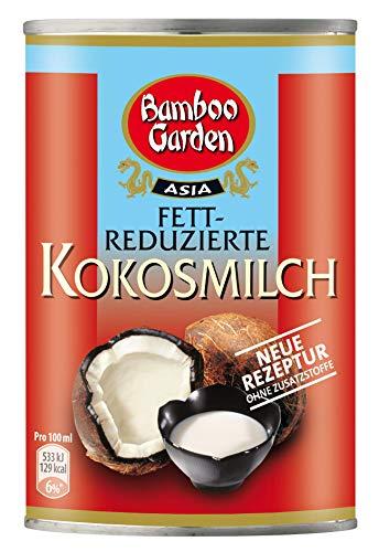 Bamboo Garden Kokosmilch fettreduziert, 1er Pack (1 x 400 ml)