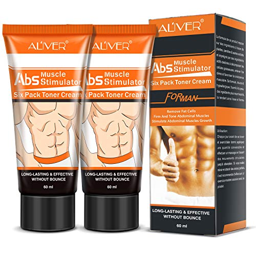 2pcs Hot Cream, Belly Fat Burner, Abdominal Muscle Toner Body, Slimming Cream, Weight Loss Workout Anti Cellulite Cream