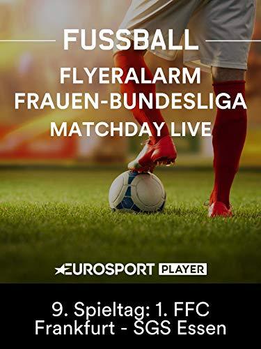 Fußball: Flyeralarm Frauen-Bundesliga 2019/20 - 9. Spieltag: 1. FFC Frankfurt - SGS Ess