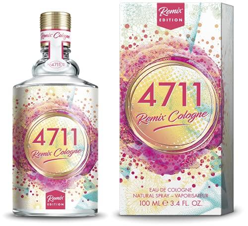 4711® Remix Cologne Orangenblüte - Limited Edition 2021   Eau de Cologne - floral fruchtiger Duft rund um die Orangenblüte - fruchtig frech geremixt!   100ml Natural Spray Vaporisat