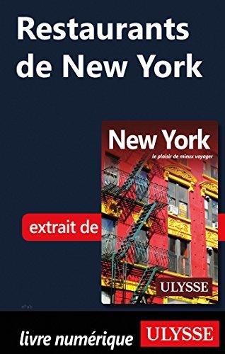 Restaurants de New-York (French Edition)