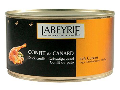 Labeyrie Confit de Canard 4 bis 6 Entenkeulen Enten-Confit 1280