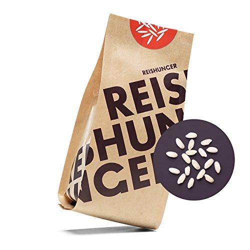 Reishunger Risotto Reis, Bio-Carnaroli, Premium-Qualität aus Italien - 3 kg - 100% Sortenrein - erhältlich in 200 g bis 9 k