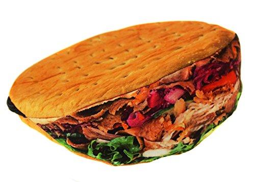 Mäppchen Federtasche Schlamperbox Federmäppchen Schüleretui Karpfen Stiftemappe grün braun Kebab [008]