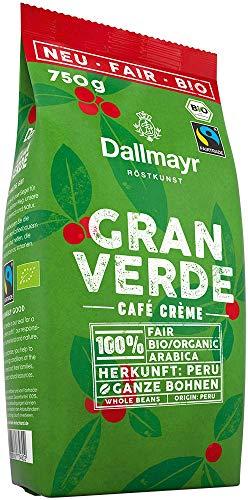 Dallmayr Gran Verde ganze Bohnen, Bio, 750