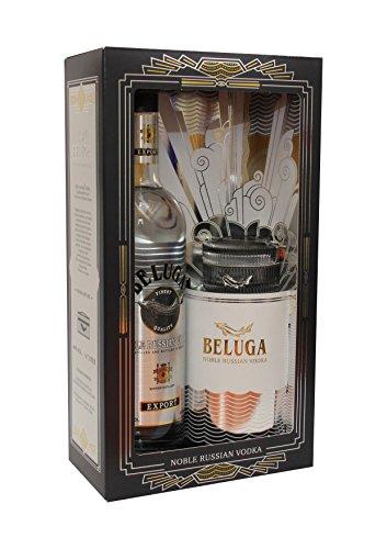 Vodka Beluga 1 x 0,7L. 40% vol. Caviar Gift Set