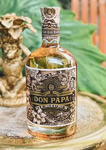 Don Papa Rum Rye American oak cask limitierte Edition 0.7 a 45% Vol. in Geschenkbox Rye aged Rum