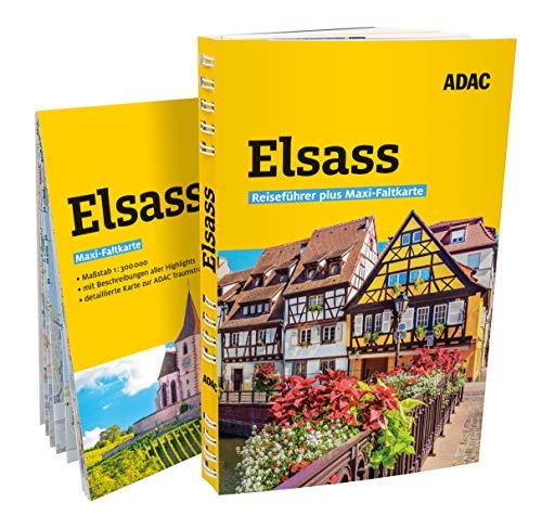 ADAC Reiseführer plus Elsass: mit Maxi-Faltkarte zum Herausnehmen
