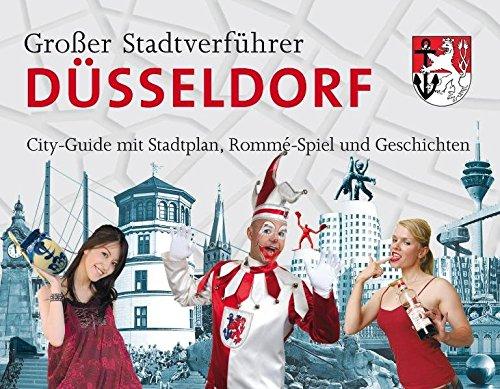 Stadtverführer / Großer Stadtverführer Düsseldorf: Rommé-Spiel als City-Guide mit Stadtplan und Geschichten