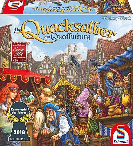 Schmidt Spiele 49341 Die Quacksalber von Quedlinburg, Kennerspiel des Jahres 2018, bla
