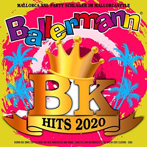 Ballermann BK Hits 2020 - Mallorca XXL Party Schlager im Mallorcastyle (Hurra die Gams Suffia feiert mit den Sünderlein und Mama Lauda bis zum Oktoberfest 2020 Wiesn 2021 Closing - Egal) [Explicit]