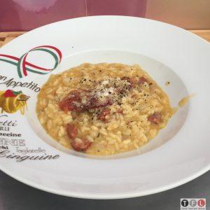 Risotto mit Chorizo
