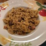 Spaghetti Carbonara mal anders mit Vollkorn-Farfalle