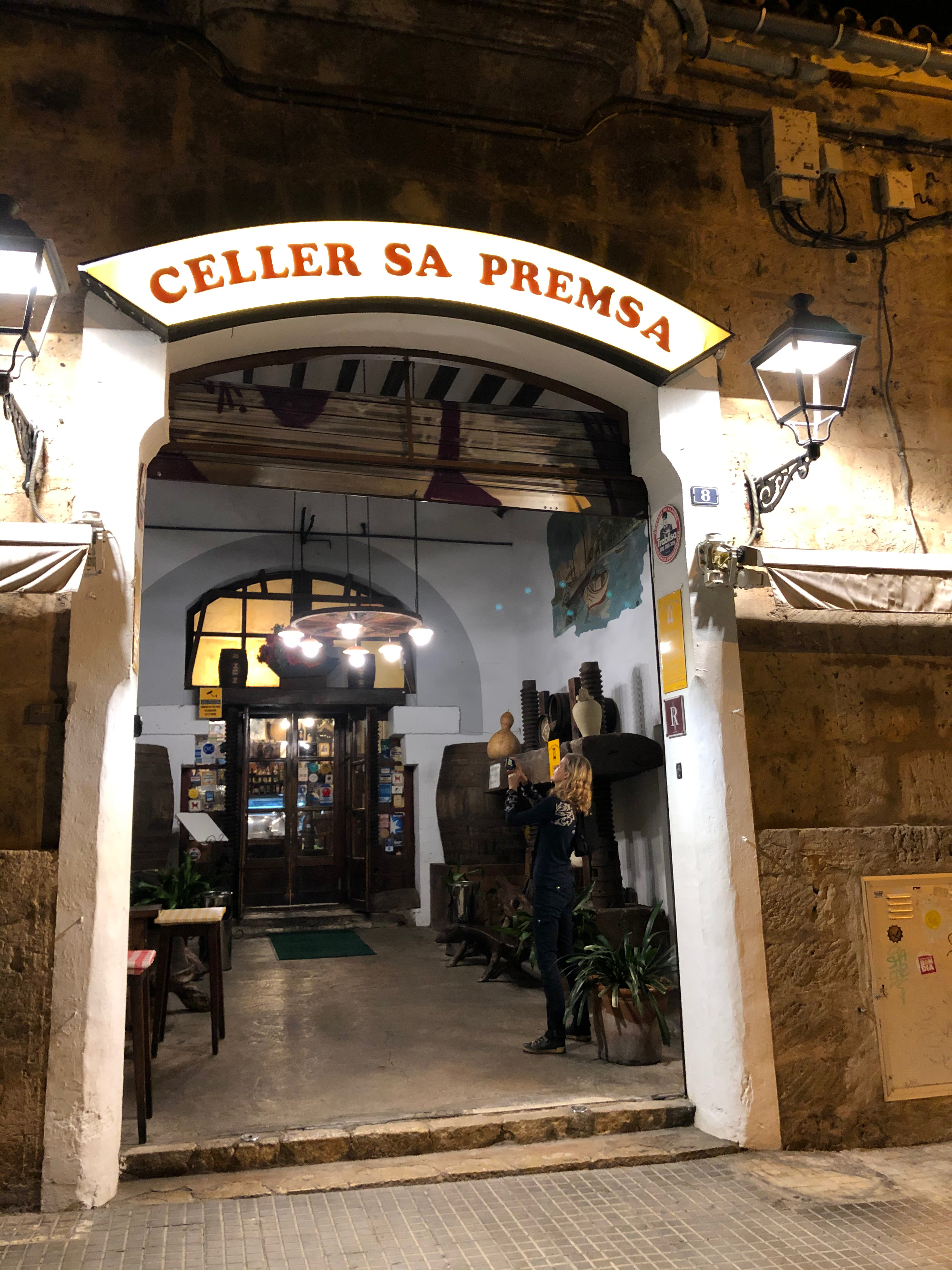 Celler Sa Premsa – a typical Mallorcan restaurant with traditional cuisine