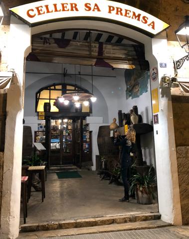 Celler Sa Premsa – ein Traditionslokal mit typisch mallorquinischer Küche