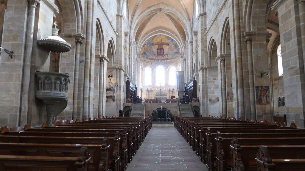 Bamberg Dom Kirchenschiff